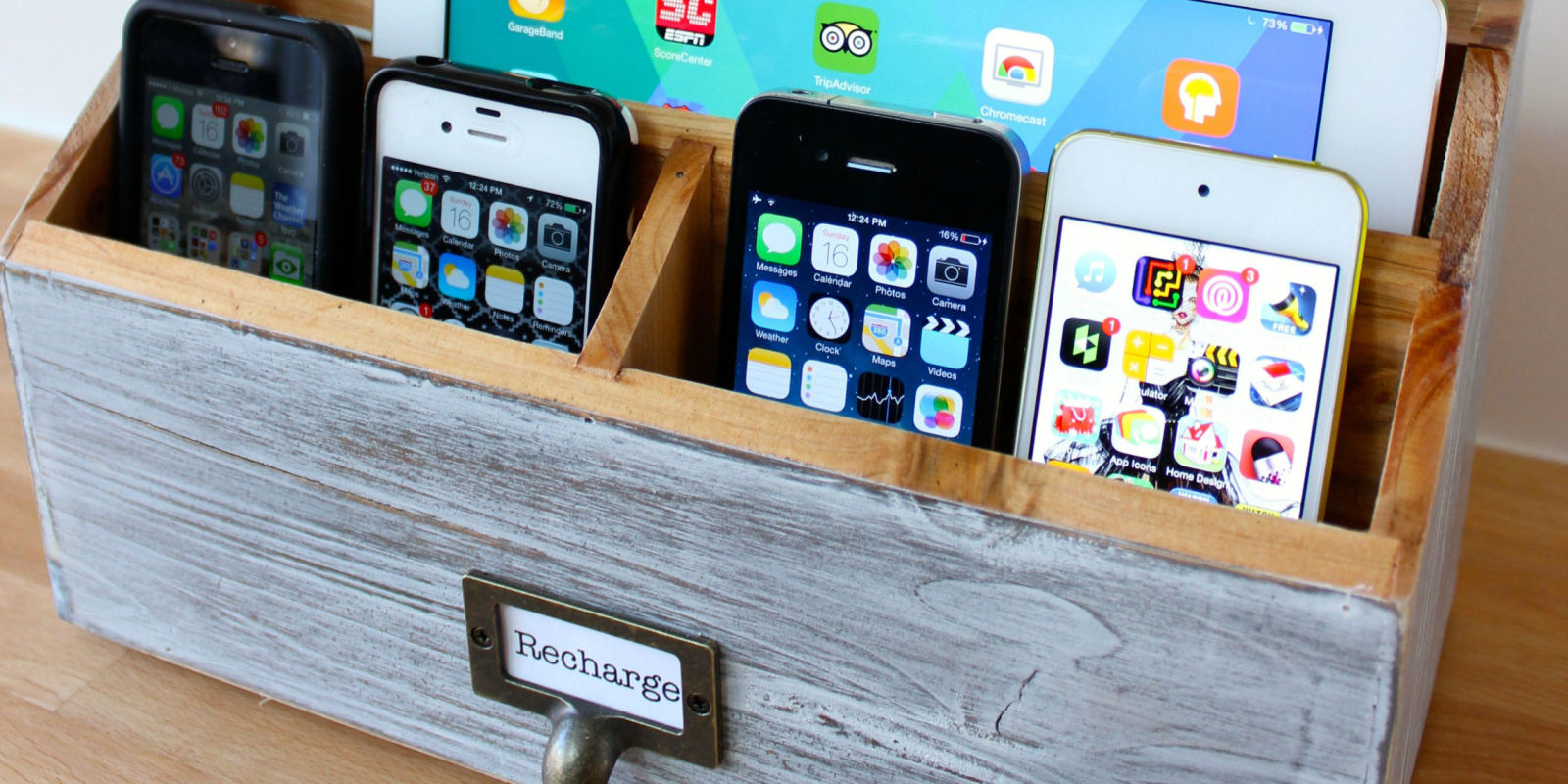 diy a family charging station