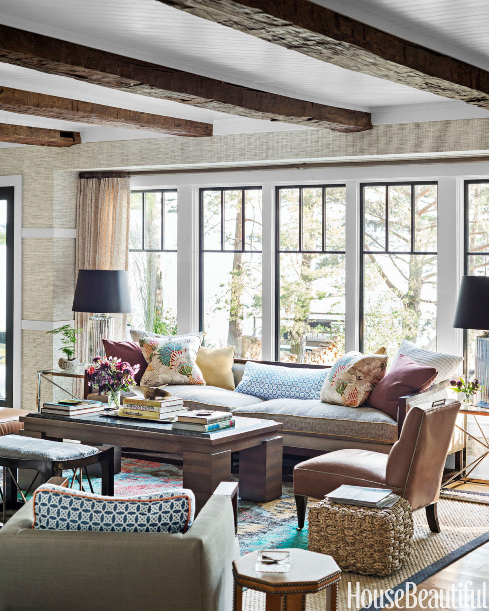 Thom Filicia Lake House - Rustic Lake House Decor