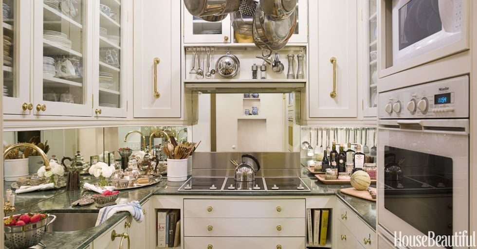 Kitchen Design Ideas Gallery push the walls 32 creative small kitchen design ideas A Truly Tiny Kitchen