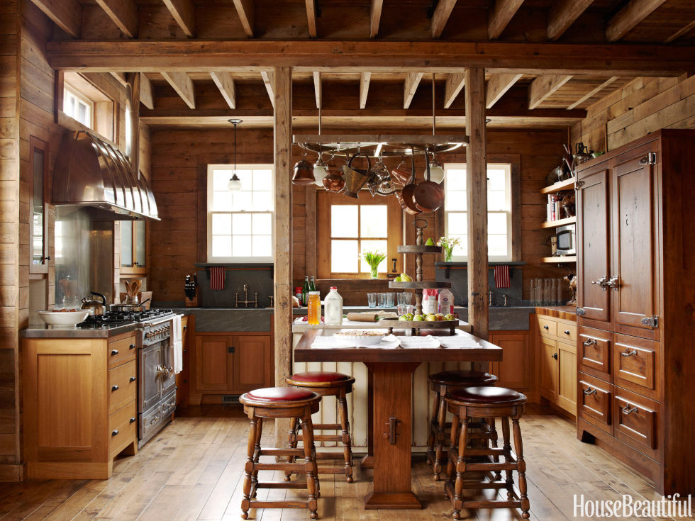 horse stable turned kitchen - Kitchen Design Ideas Photos