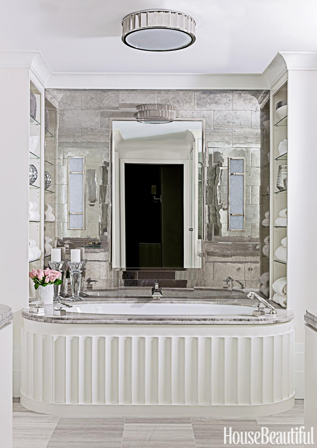 Ocean Liner Inspired Bathroom