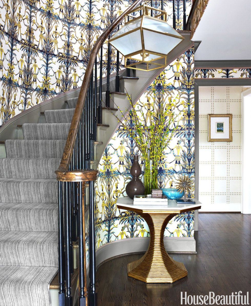 70 foyer decorating ideas design pictures of foyers house beautiful - Entryway Design Ideas