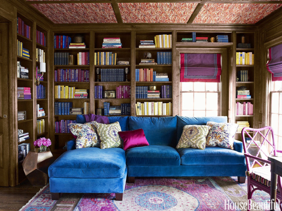 Old English Library Decor home library design ideas - pictures of home library decor