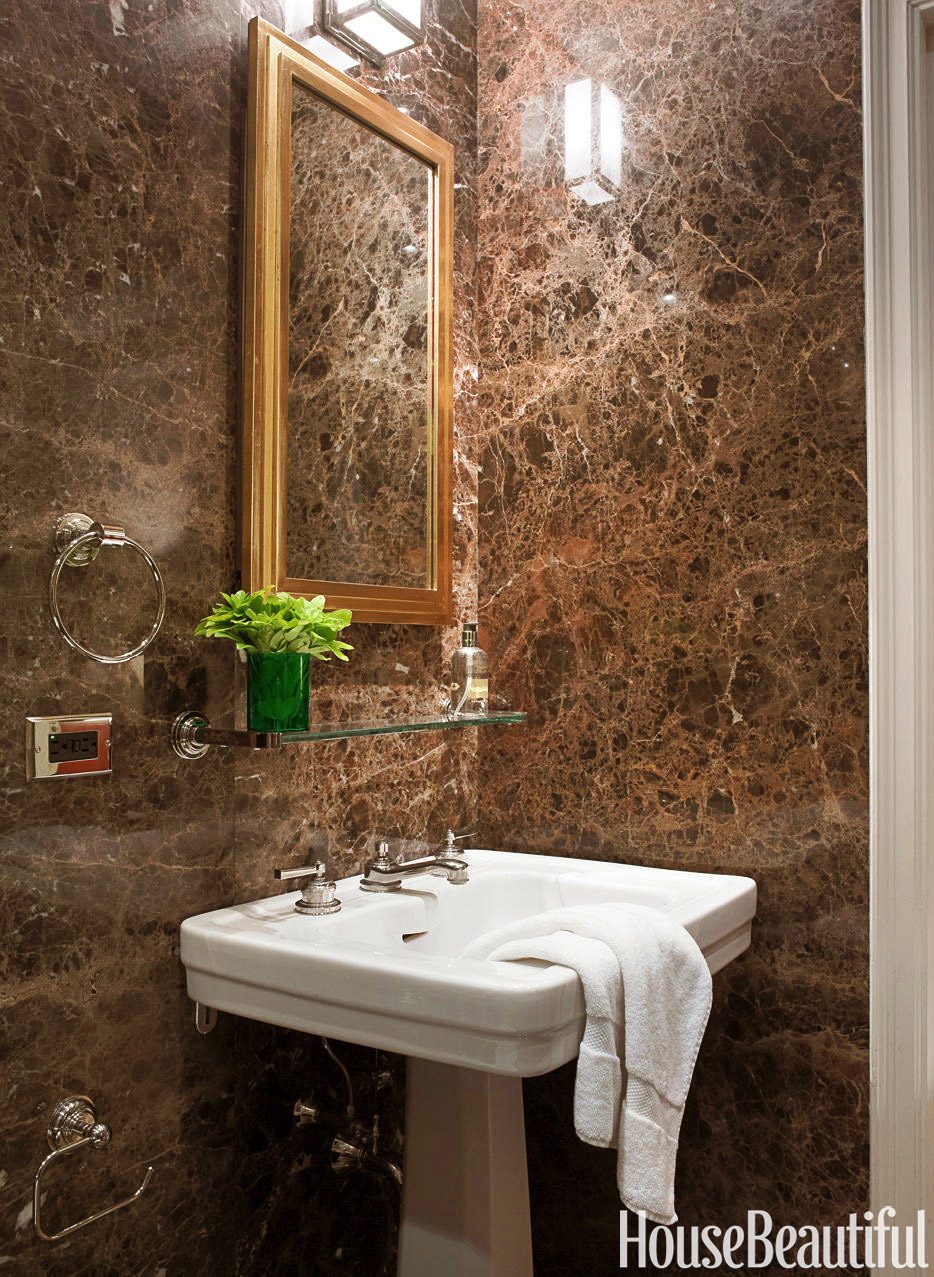 Brown marble bathroom miles redd - Brown Marble Bathroom Miles Redd 32