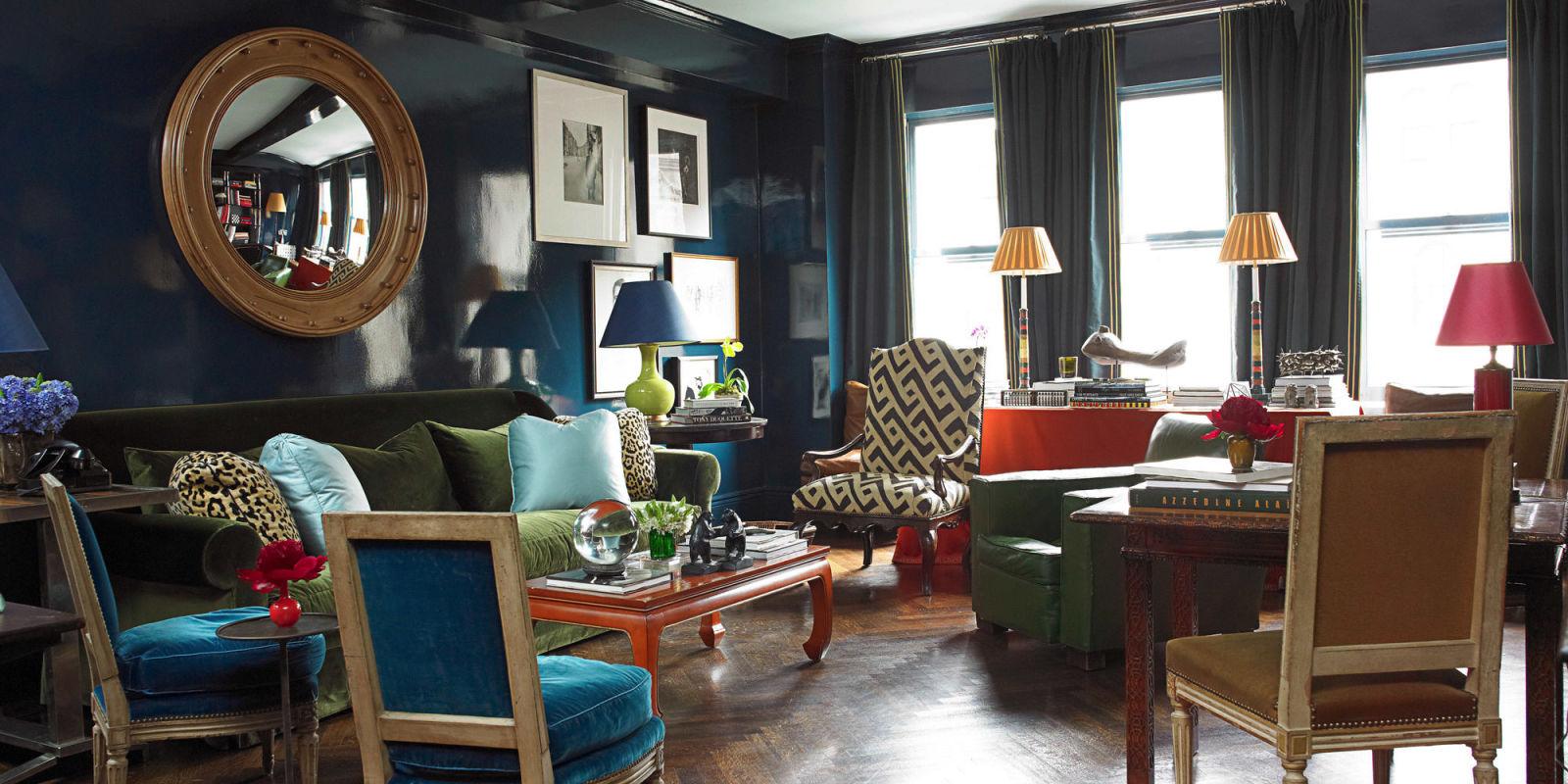 20 Something Manhattan Apartment: Miles Redd's Colorful And Intense Manhattan Design