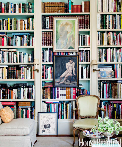 How To Decorate Bookshelves how to decorate bookshelves - how to arrange a bookshelf