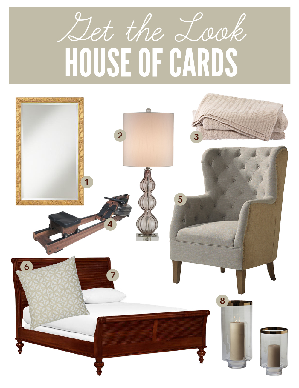 Get the look house of cards - House of cards waterrower ...