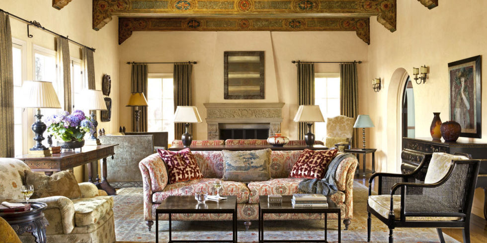 Spanish colonial homes interiors