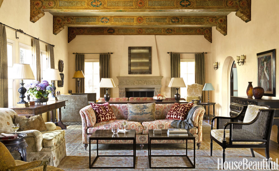 Living Room Spanish Style De Homesfeed