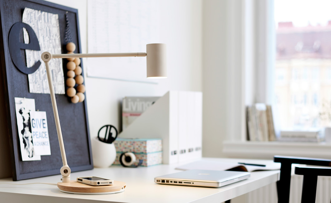 Ikea 39 s new furniture will charge your smartphone wirelessly - Phone charging furniture the future in your home ...