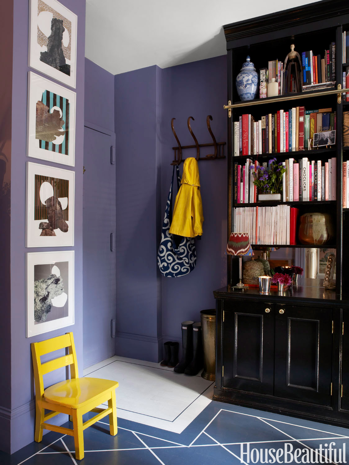 Beautiful Small Home Libraries: How To Decorate A Small Foyer