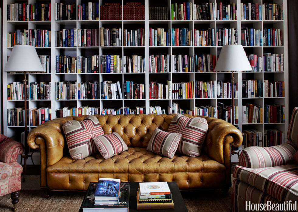 Awe Inspiring Home Library Design Ideas Pictures Of Home Library Decor Largest Home Design Picture Inspirations Pitcheantrous