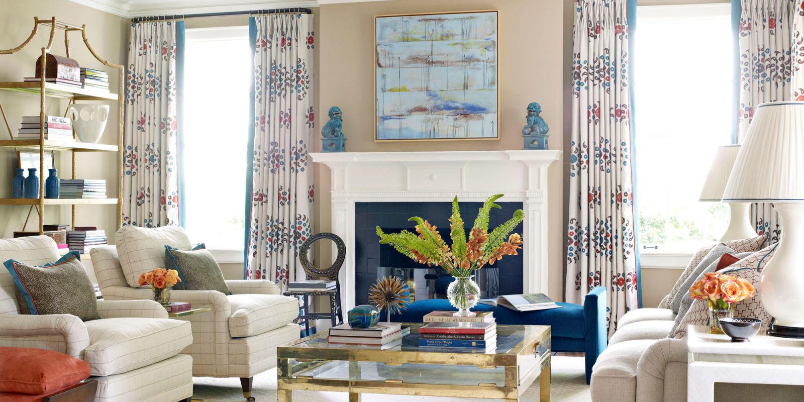 Colorful decorating ideas designer lindsey coral harper for 1940s decoration