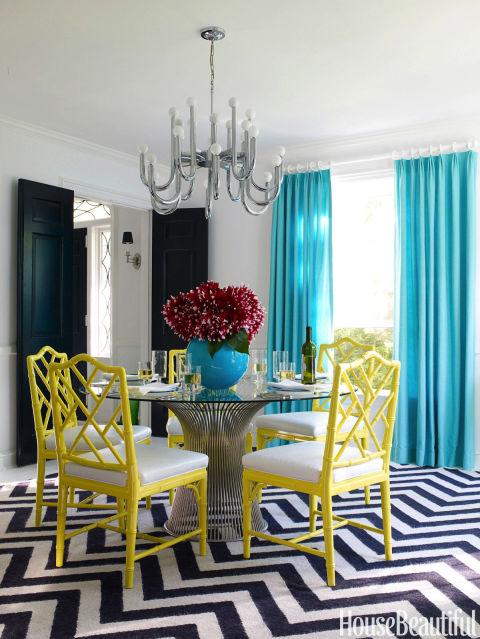 modern dining room - Jonathan Adler Living Room