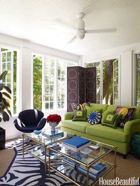 bright sitting area - Jonathan Adler Living Room