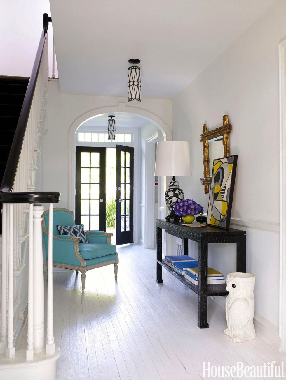 House Beautiful Decorating jonathan adler designs a modern westchester home