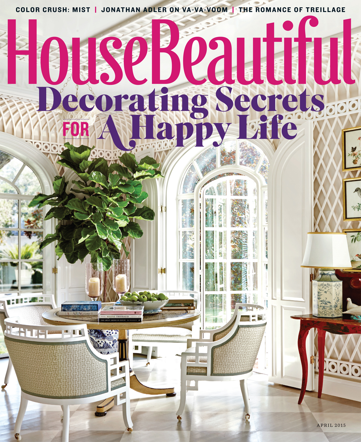 House Beutiful april 2015 issue product guide