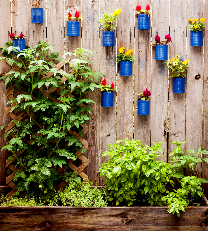 12 diys for your spring garden that take less than an hour