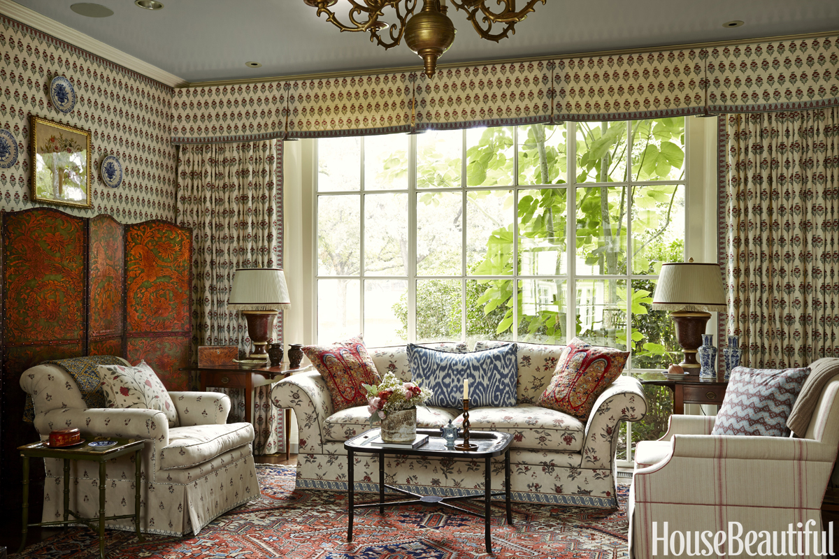 cathy kincaid on decorating a traditional dallas house