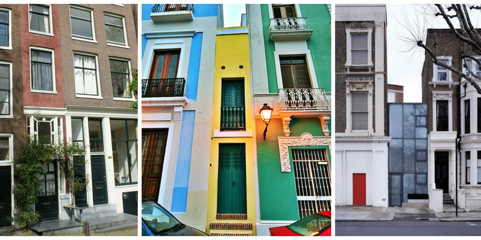 Skinny Houses Around The World World 39 S Narrowest Houses