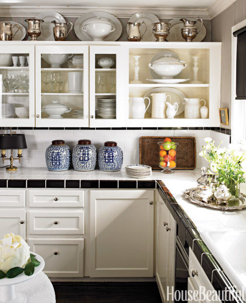 Awkward Kitchen Layout Solutions: Design Ideas For The Space Above Kitchen Cabinets
