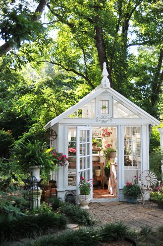She Sheds TrendGarden Shed Decorating Ideas