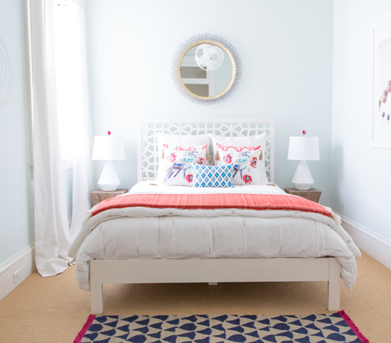 After  An Airy Feel. Small Guest Room Makeover   Small Bedroom Advice and Tips