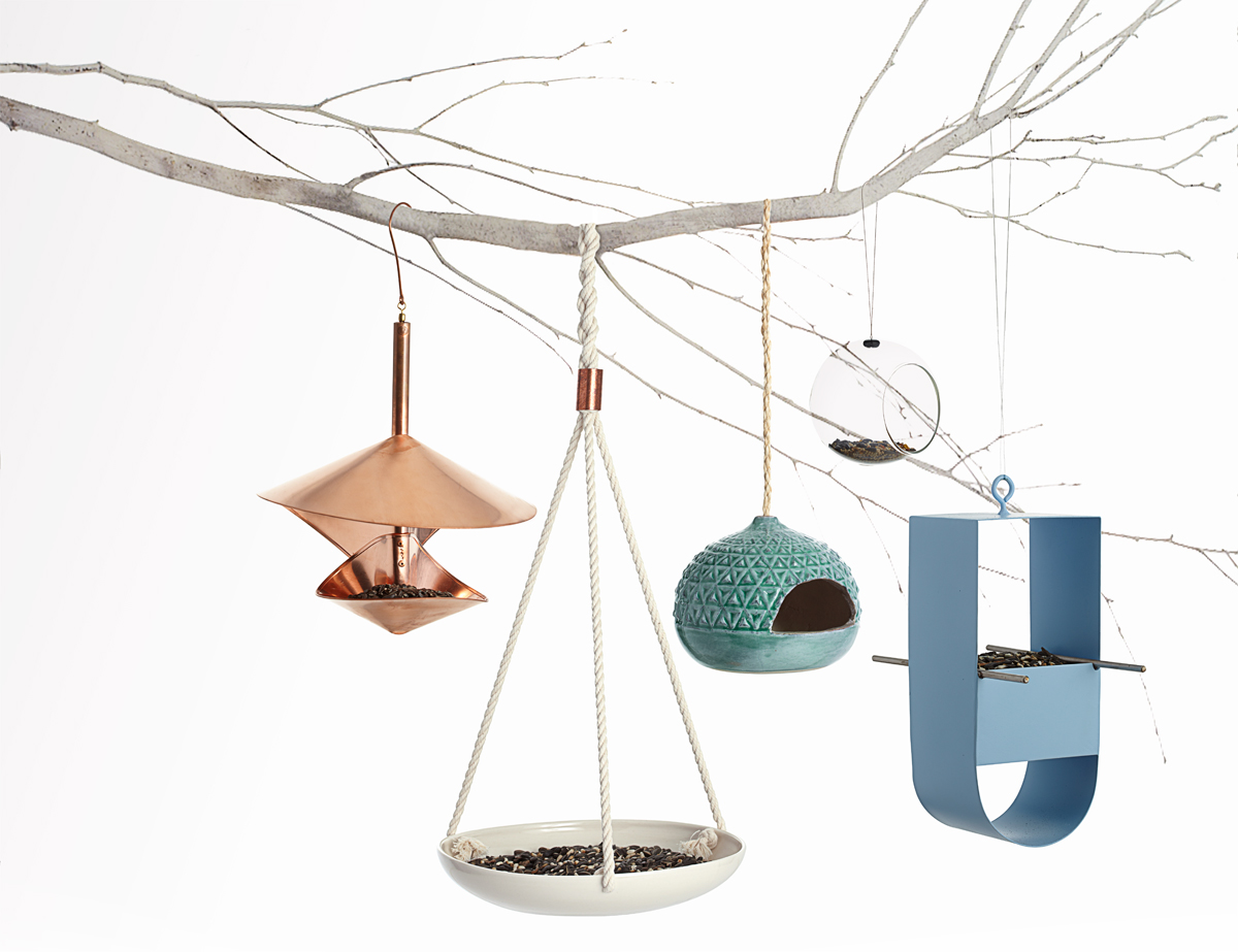 Modern Bird Feeders Stylish Bird Houses