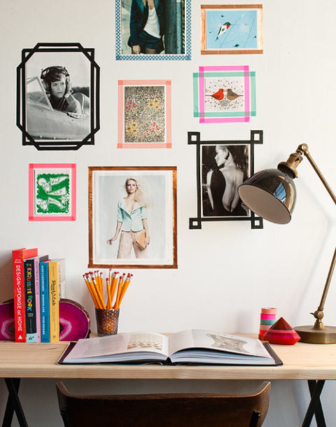 Peachy Alternative Framing Ideas How To Hang Pictures Without A Frame Largest Home Design Picture Inspirations Pitcheantrous