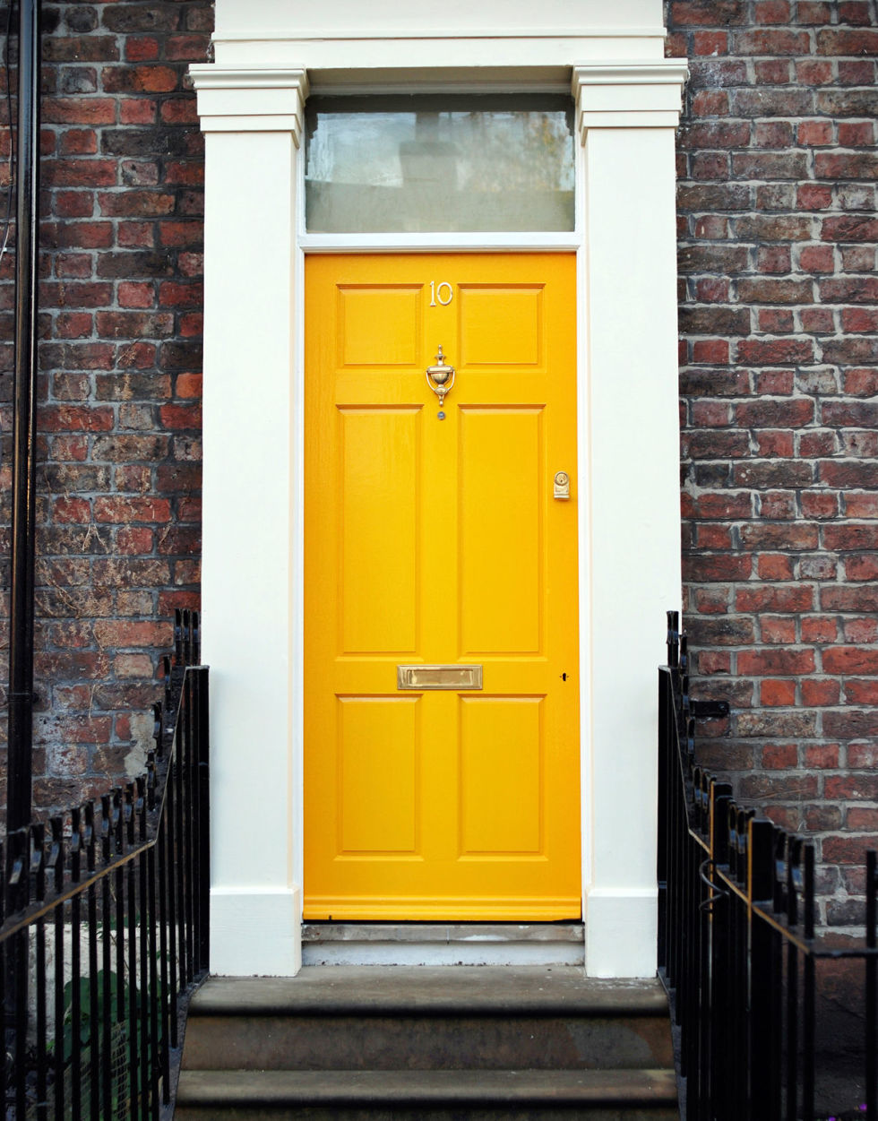 Painted Front Door 14 best front door paint colors - paint ideas for front doors