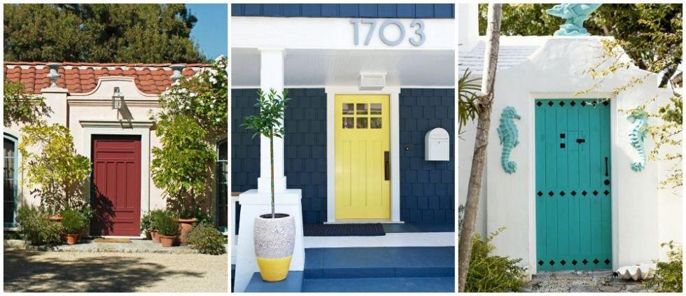 Swell 16 Front Door Paint Colors Paint Ideas For Front Doors Largest Home Design Picture Inspirations Pitcheantrous
