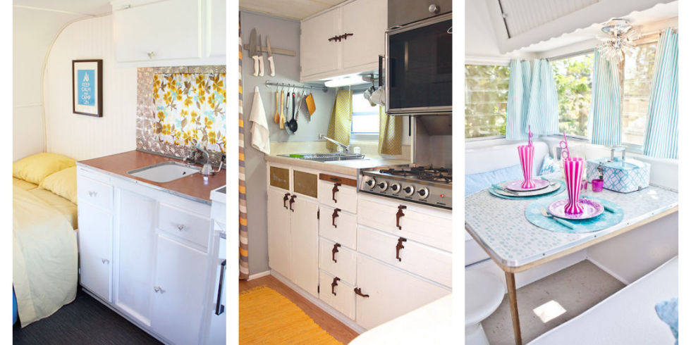 Camper Makeovers Ideas for Renovating RVs