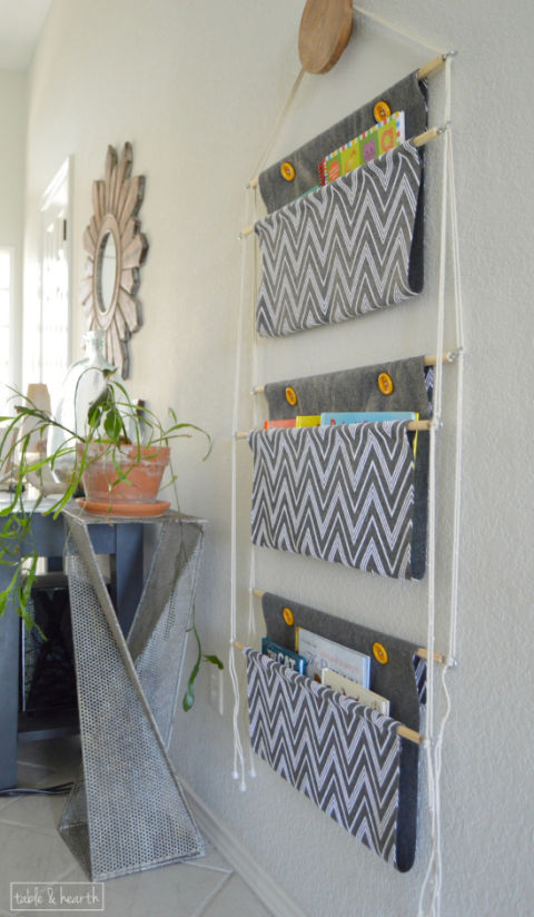 hang your books - Diy Decor