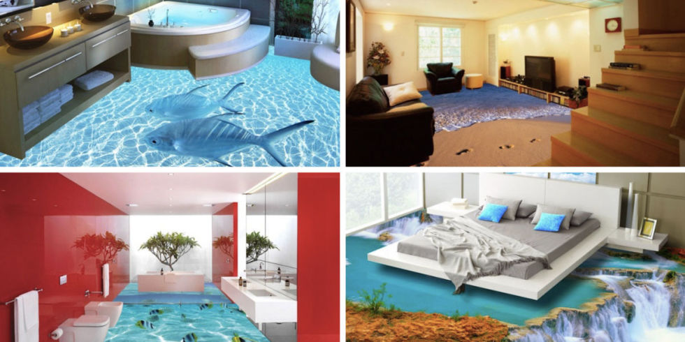 3d floors turn the space into a magical scene modern for 3d flooring uk