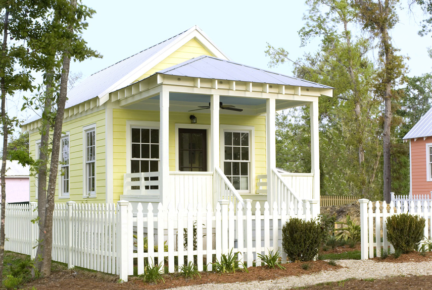 60 best tiny houses design ideas for small homes - Beautiful Small Houses