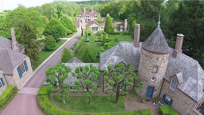 eclectic modern castle - castle house tour