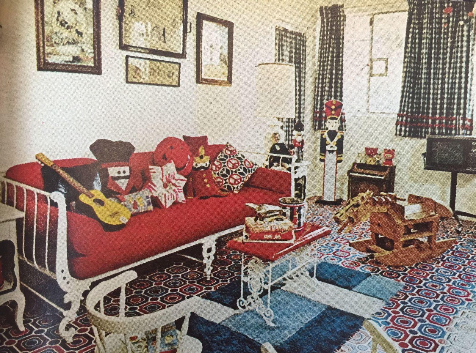 Barbra Streisand House Tour August 1974 House Beautiful