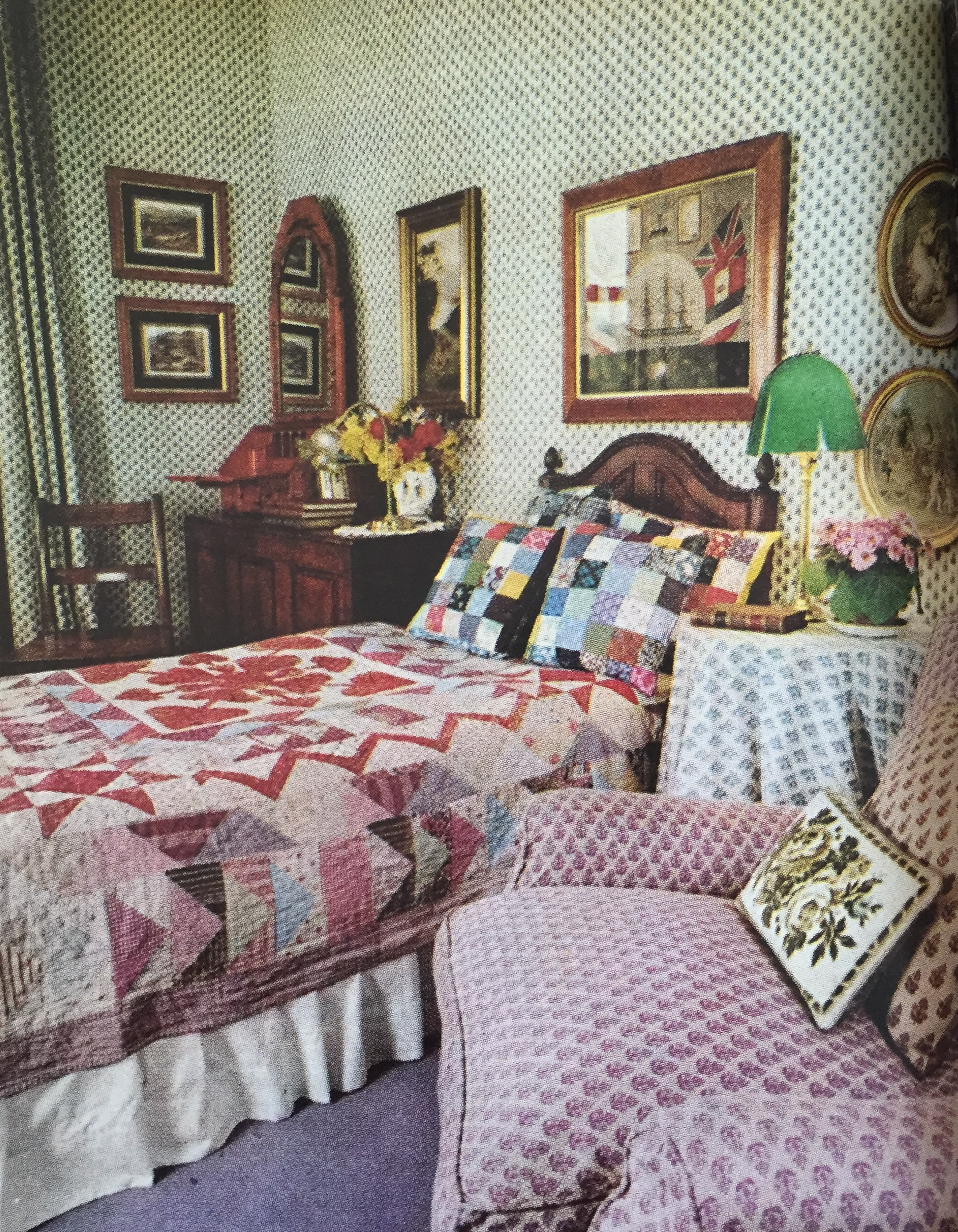 laura ashley 39 s 1976 home seventies home decor. Black Bedroom Furniture Sets. Home Design Ideas