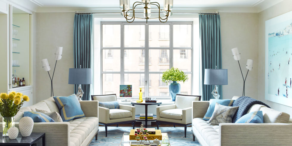 Blue Manhattan Apartment