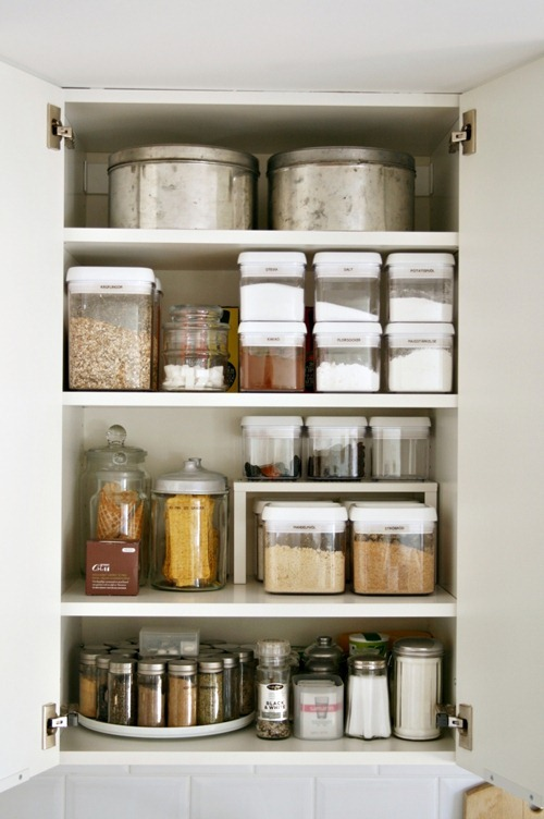 wonderful Organized Kitchen Cabinets #1: House Beautiful