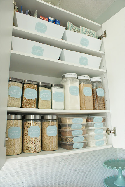Organizing Kitchen Cabinets - Storage Tips for Cabinets