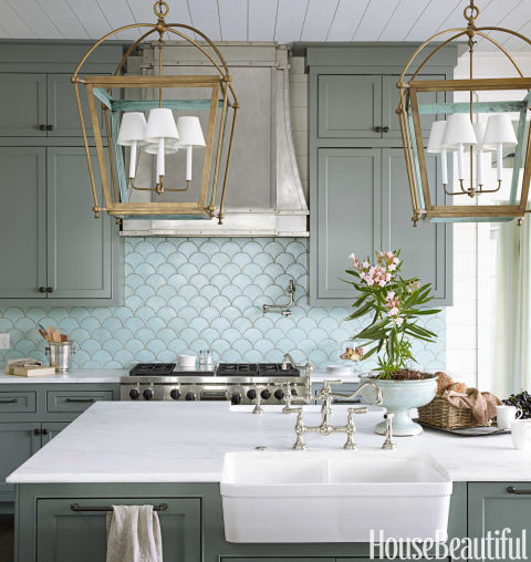 Inspiring Country Kitchen Paint Colors To Get Inspirations: Urban Grace Interiors Kitchen