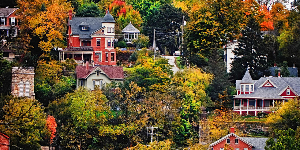 Best Small Towns Cutest Places To Visit - Us quaint towns map