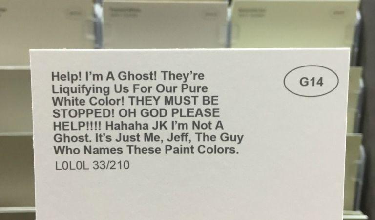 funny paint color names - joke paint color names