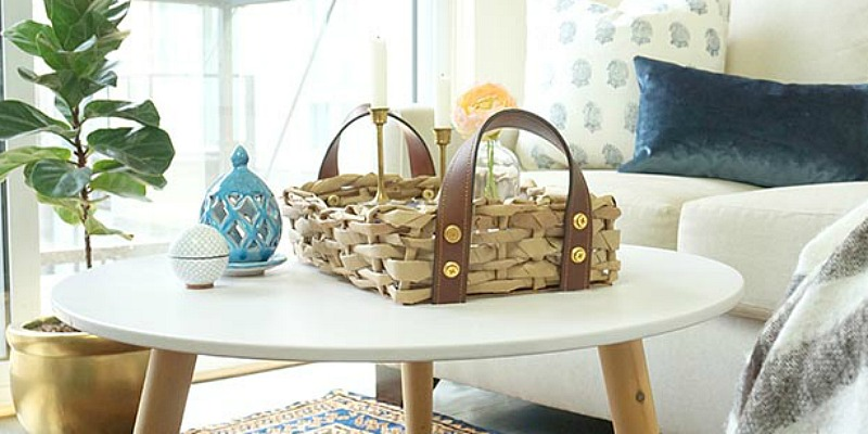 Paper Bag Basket Diy Diy Woven Basket