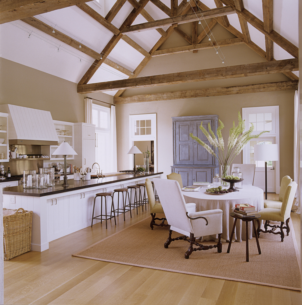 The 15 Most Beautiful Kitchens On Pinterest: Ina Garten Hamptons Barn