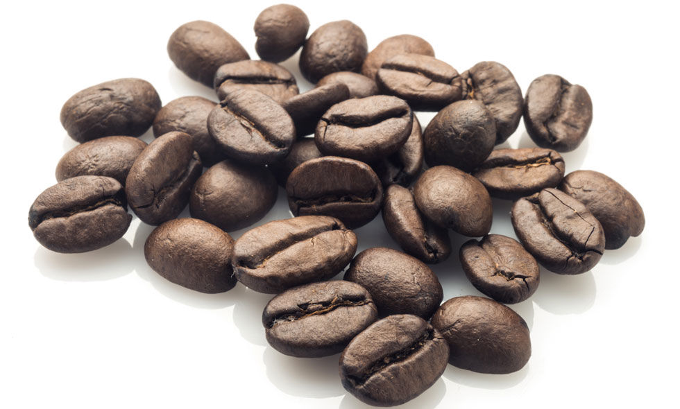 Leaving coffee beans or grounds in the fridge will make them lose their flavor and even take on the flavor of foods around them. Store large quantities in the freezer, and smaller amounts in a cool, dark place.