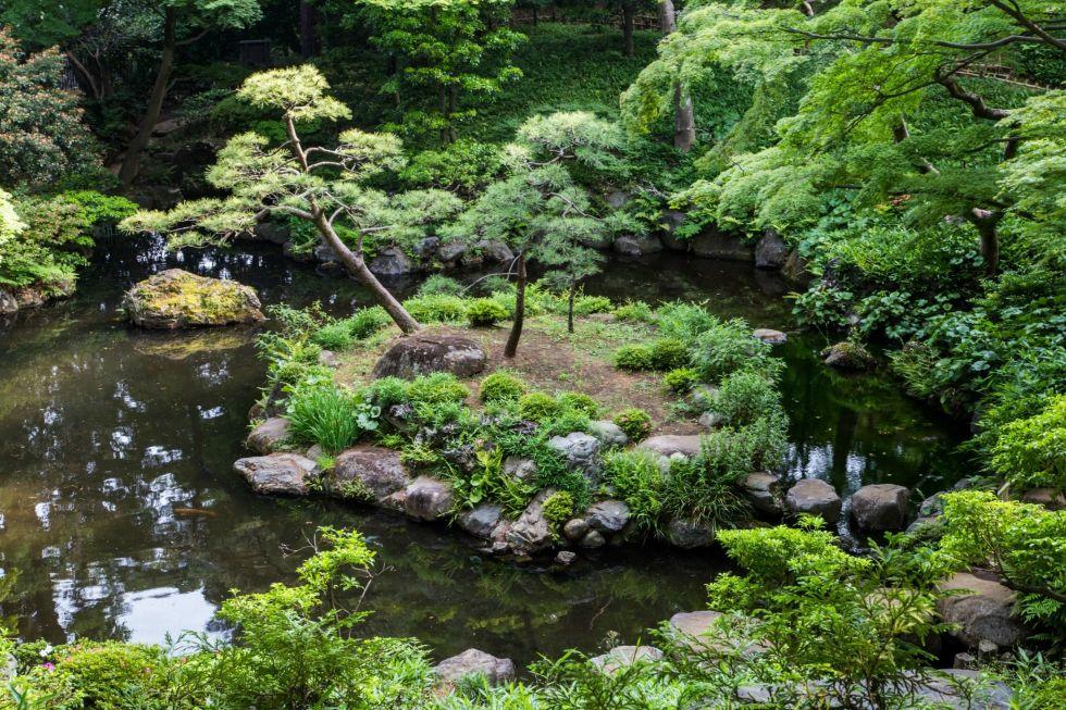 Japanese Garden Ideas small space japanese garden Tokyo Tonogayato Garden