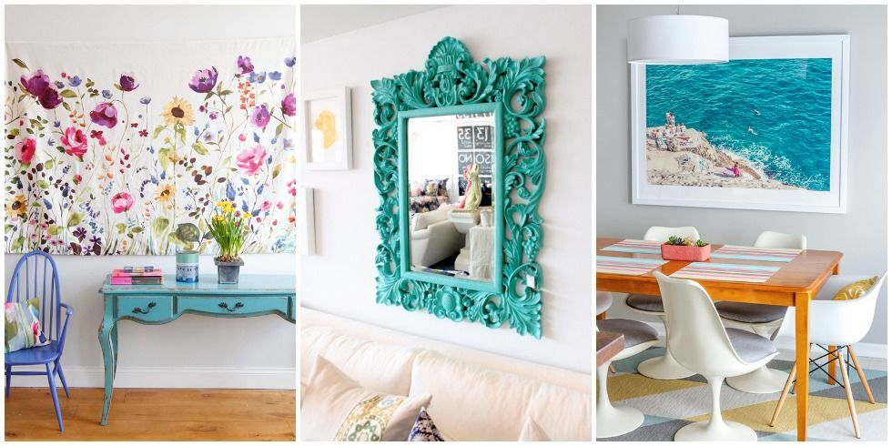 Things To Hang On Walls fill a blank wall - gallery wall alternative