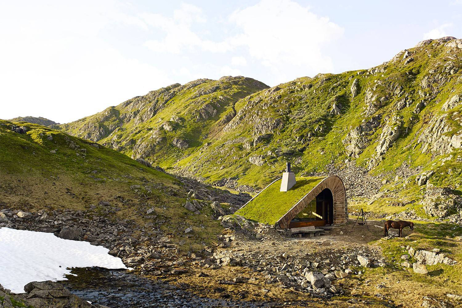 Tiny Remote Norway Cabin Hidden Natural Cabin